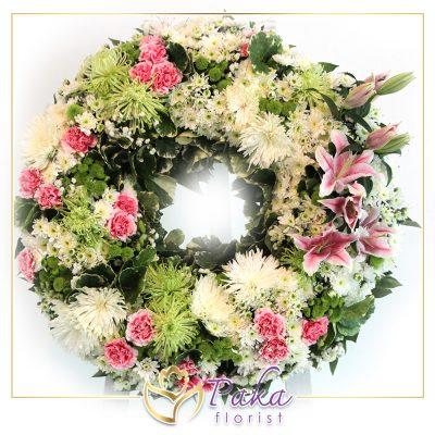 ความเป็นมาของพวงหรีดดอกไม้สด รับจัดพวงหรีดดอกไม้สด พวงมาลา