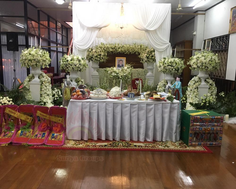 ขั้นตอนการจัดงานศพ เบื้องต้น โลงศพ ดอกไม้หน้าศพ สุริยาหีบศพบริการครบวงจร